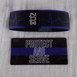 Zox Protect and Serve Wristband Strap - New